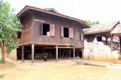 Nyaung Ohak Kloster in Indein