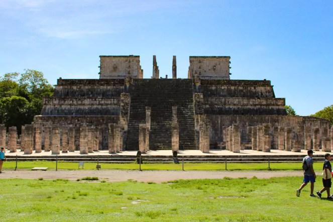 Tempel der Krieger in Chichén Itzá