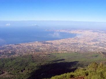 Neapel vom Vesuv