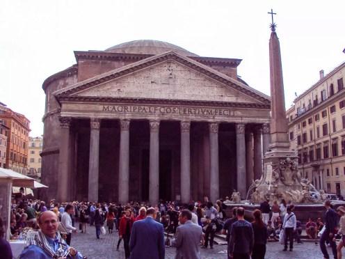 Piazza della Rotonda in Rom