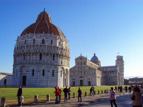 Dom, Kathedrale und der schiefe Turm von Pisa