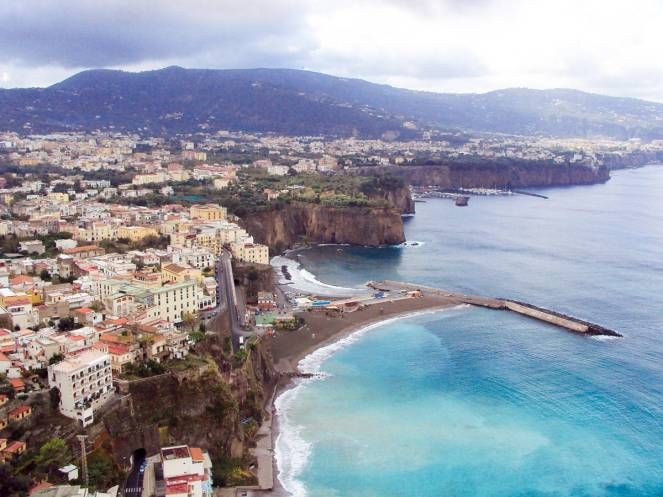 Sorrento in Italien
