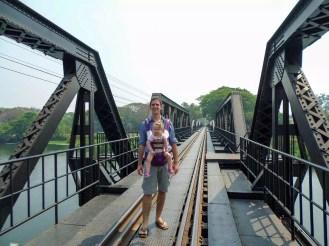 Auf der Brücke am Kwai
