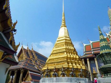 Goldene Chedi Wat Phra Kaeo