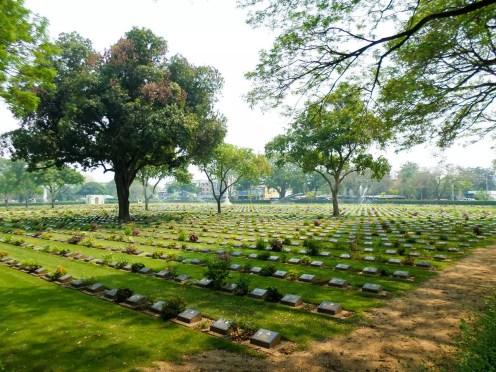 Kanchanaburi Kriegsfriedhof