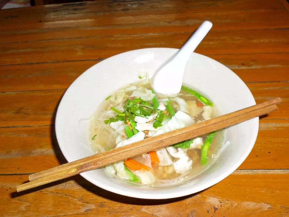 Sukhothai Nudelsuppe (Sokhothai Noodles)
