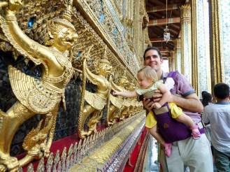 Tempel des Smaragd Buddha in Bangkok