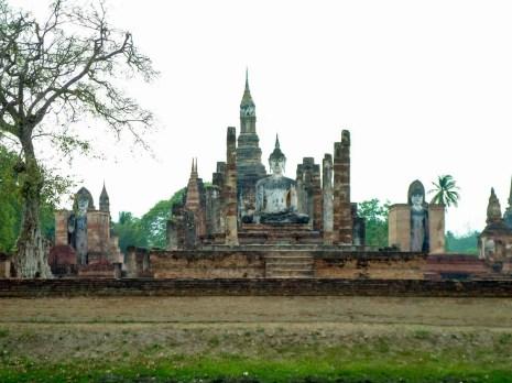 Wat Mahathat im Sukhothai Geschichtspark