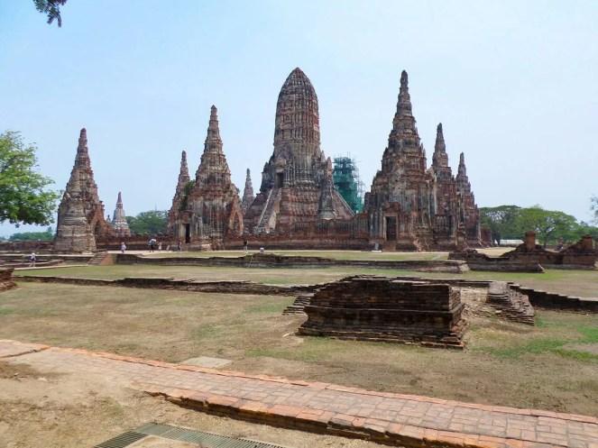 Tempelanlage Wat Chai Watthanaram in Ayutthaya