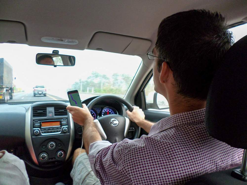 Mit dem Auto in Thailand unterwegs