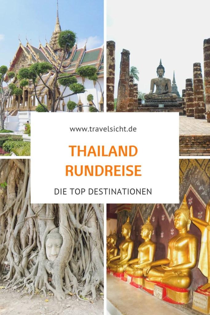 Thailand Rundreise Destinationen