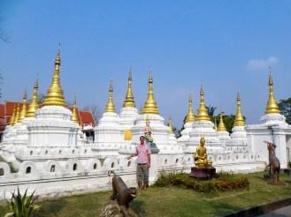 Wat Chedi Sao Lang in Lampang