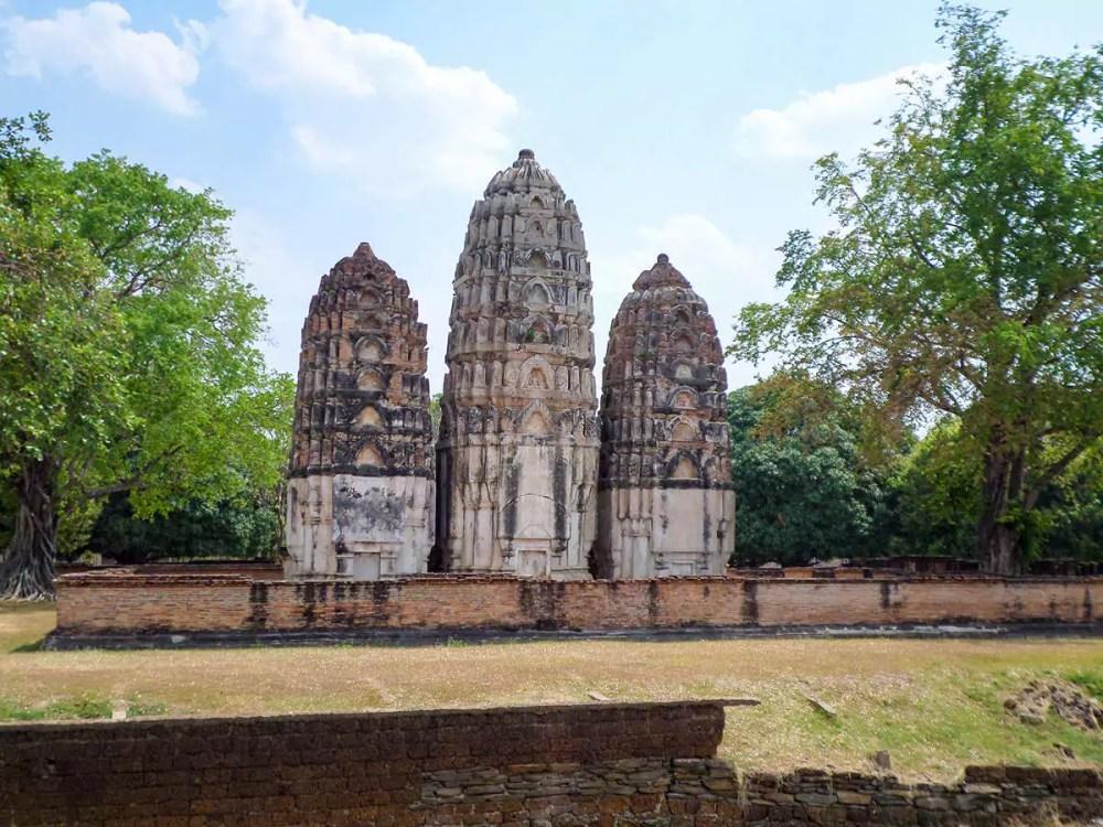 Wat Sri Sawai in Sukhothai