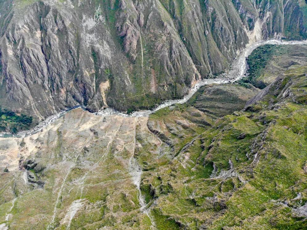 Colca Canyon aus der Luft