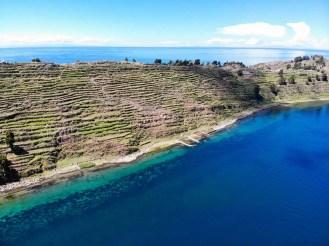 Taquile Island mit den Prä-Inka Terrassen