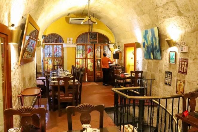 Ambiente Zig Zag Restaurant in Arequipa