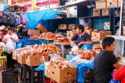Backwaren auf dem Mercado San Camilo