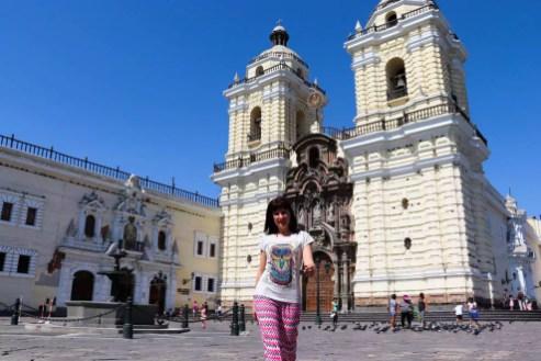 Basilika und Kloster San Francisco in Lima