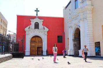 Basilika Santo Domingo in Lima