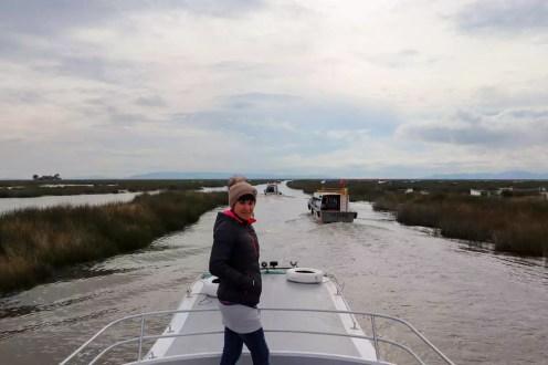 Mit Boot auf dem Titicacasee zu den Uros Islands