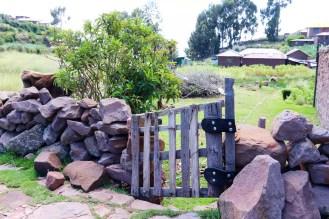 Gartentor auf Taquile