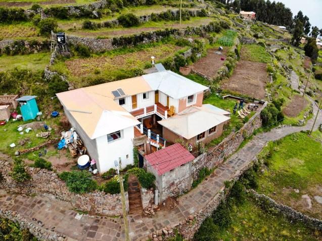 Homestay von Mariluz & Henry auf Amantani Insel