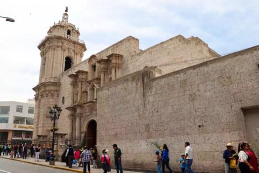 Iglesia de la Compania de Jesús in Arequipa