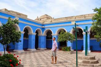 Klosterhof Santa Catalina in Arequipa