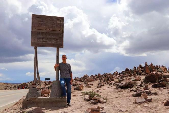 Mirador los Andes (4.910 m)