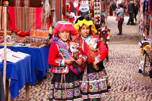 Auf dem Pisac Markt