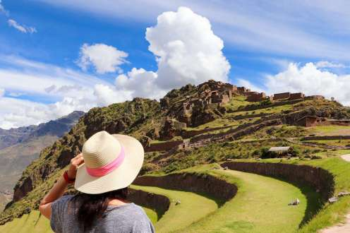 Pisaq Inka Ruinen