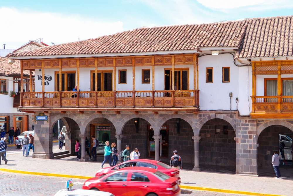Portal Belen in Cusco