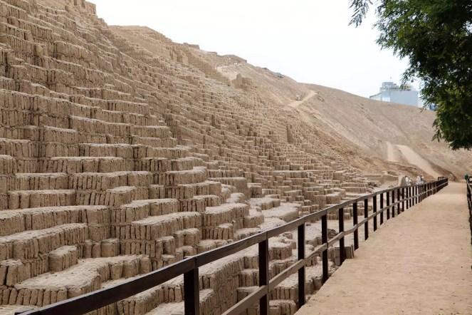 Tempelpyramide Huaca Pucllana