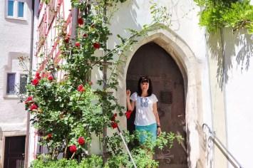 Tor mit Rosen in Eichstätt