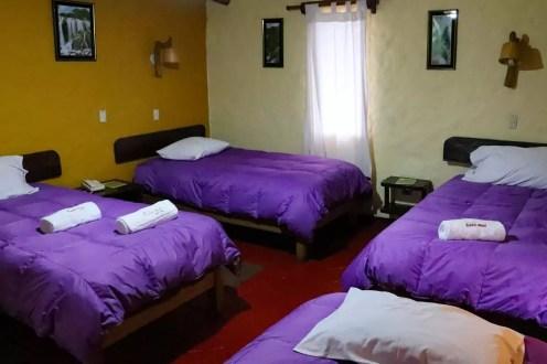 Unser Zimmer im Kuntur Wassi Hotel