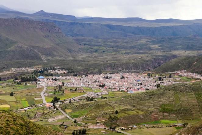 Chivay im Tal