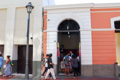 "Churros ""San Francisco"" in Lima"