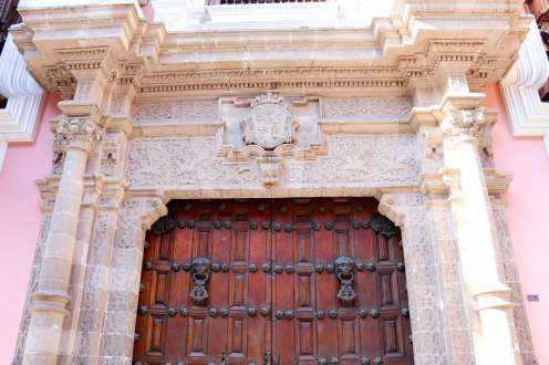 Eingangstor Palacio de Torre Tagle