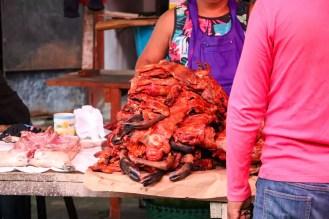 Fleisch Belen Markt Iquitos