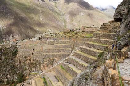 Inka Festung Ollantaytambo