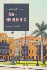 Sehenswürdigkeiten in Lima