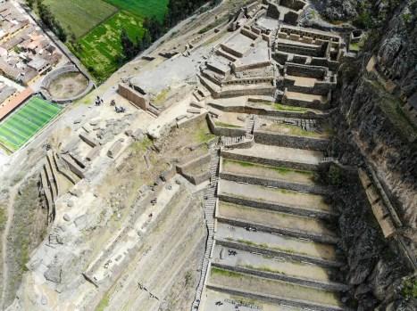 Ollantaytambo Inka Ruinen