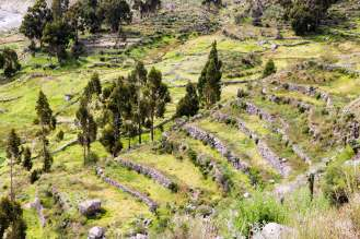 Prä-Inka Terrassen im Colca-Tal