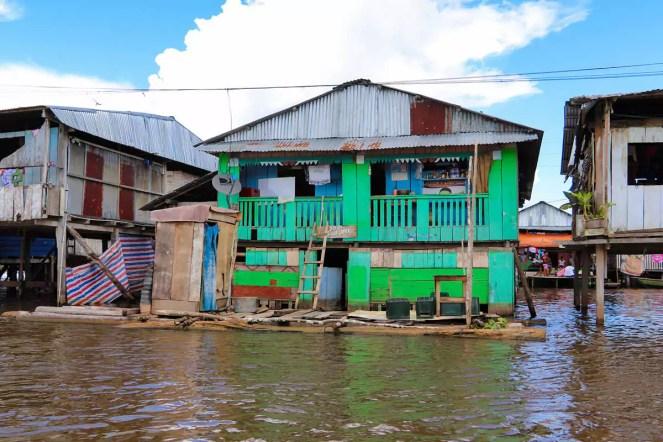 Stelzenhaus Belen Iquitos
