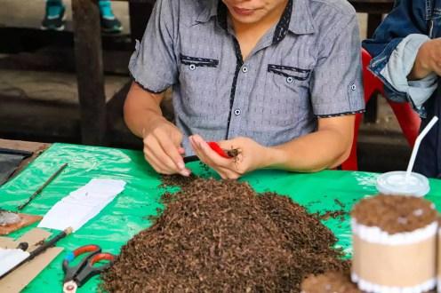 Tabakverkäufer Iquitos