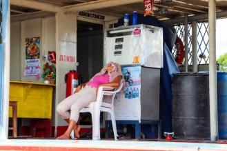 Tankstelle Belén Iquitos