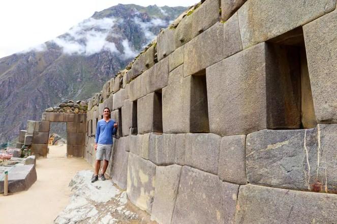 Tempel der 10 Fenster Ollantaytambo