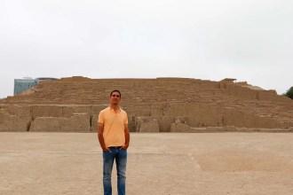 Tempelpyramide Huaca Pucllana in Miraflores