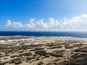 Aussicht auf die Korallenküste vom California Leuchtturm