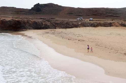 Auf dem Dos Playa Beach